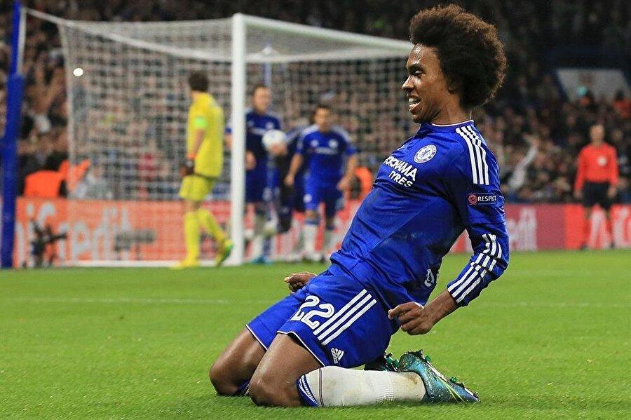 14. WILLIAN: 85 Chelsea