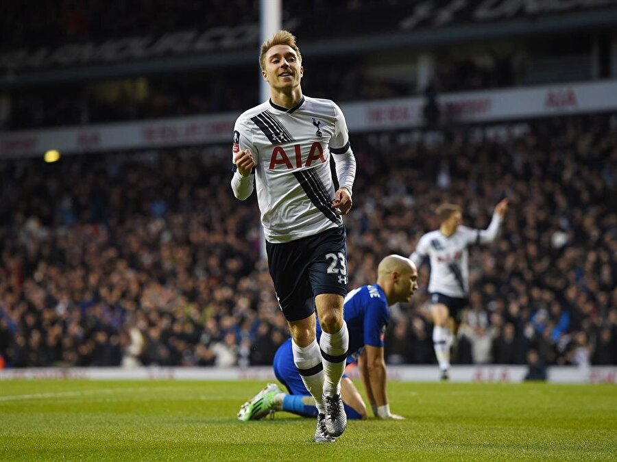 8. CRISTIAN ERIKSEN: 87 Tottenham Hotspur