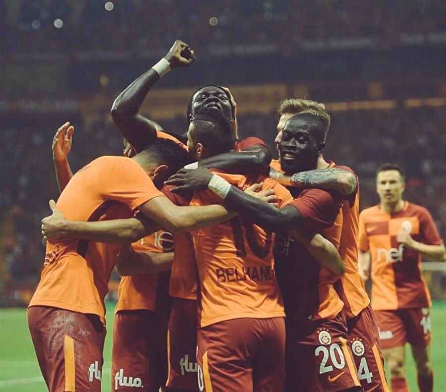 46-) Galatasaray                                                                            (2 sıra geriledi)