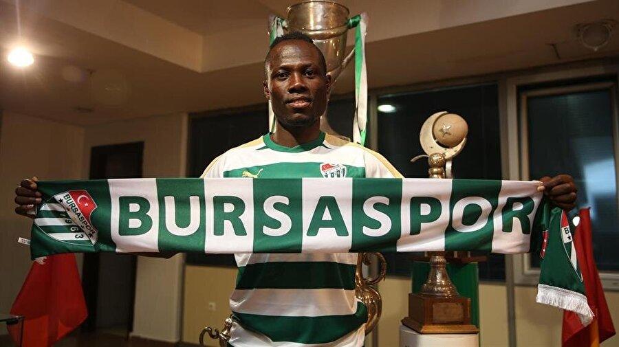 25. Emmanuel Badu - 75 Bursaspor