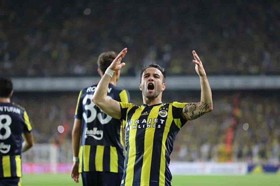 8. Mathieu Valbuena 81 Fenerbahçe