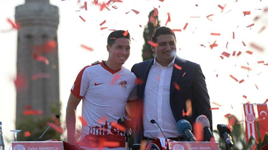 3. Samir Nasri 82 Antalyaspor