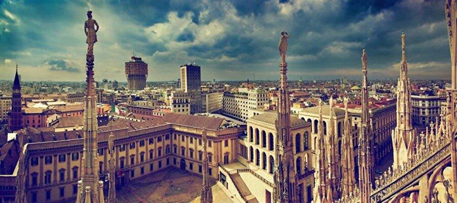 Milan, İtalya - 8,4 milyon ziyaretçi