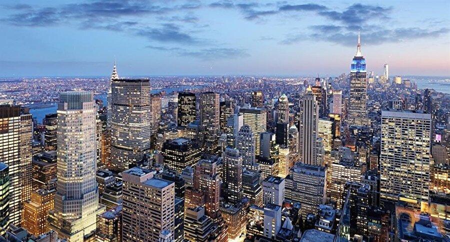 New York, ABD - 12.4 milyon ziyaretçi