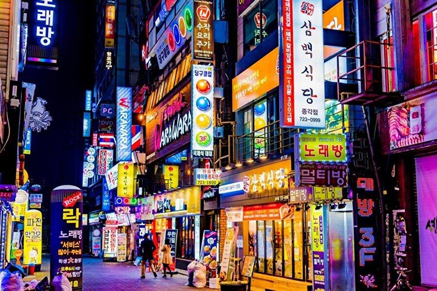Seul, Güney Kore - 12.44 milyon ziyaretçi