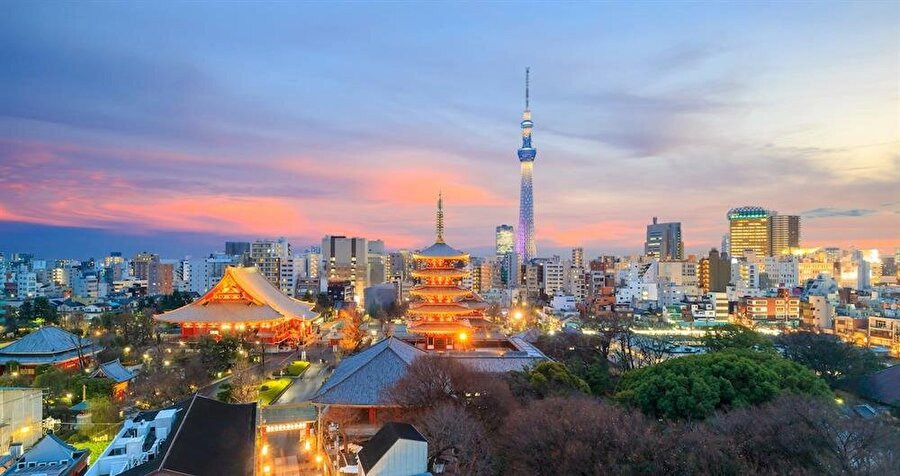 Tokyo, Japonya - 12.5 milyon ziyaretçi
