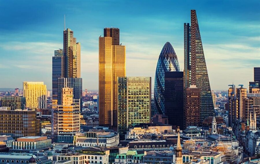 Londra, İngiltere - 20 milyon ziyaretçi