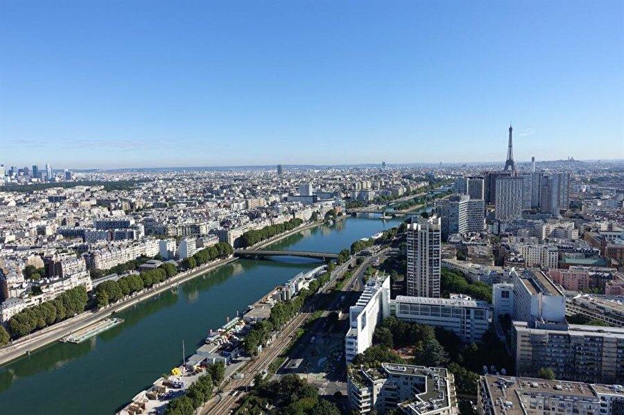 Paris, Fransa - 16.1 milyon ziyaretçi