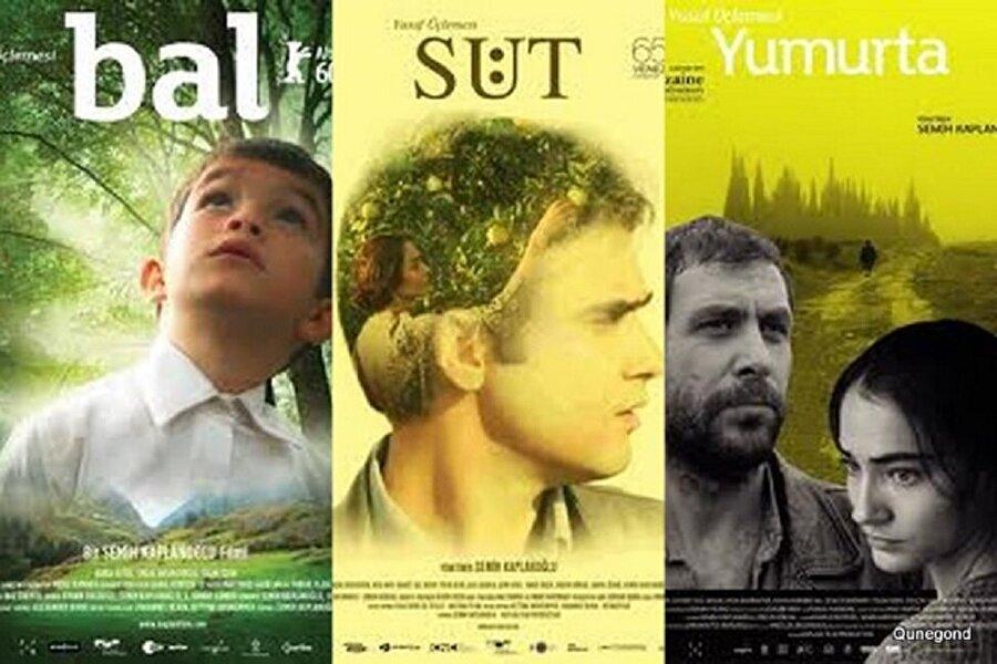 Susuz Yaz'da kalan emaneti alma vakti: Yumurta-Süt-Bal 3'lemesi Türk sinemasının aldığı en büyük ödül olan ve 1963 yılında kazanılan Altın Ayı, 47 yıl sonra yine bir Türk yönetmenin ellerinde havalanacaktı. 2007 yılında çekilen Yumurta ve 2008 yılında çekilen Süt'ün son filmi olan Bal, bu 3'lemeyi Altın Ayı ile taçlandırmış ve Türkiye'nin o yıl ki Oscar adayı olmuştu.