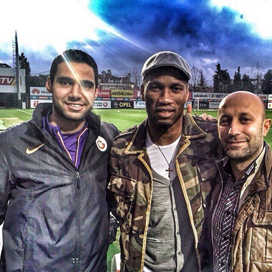 Galatasaray'da hücum antrenörü olup, Drogba ile fotoğraf olmaz mı?