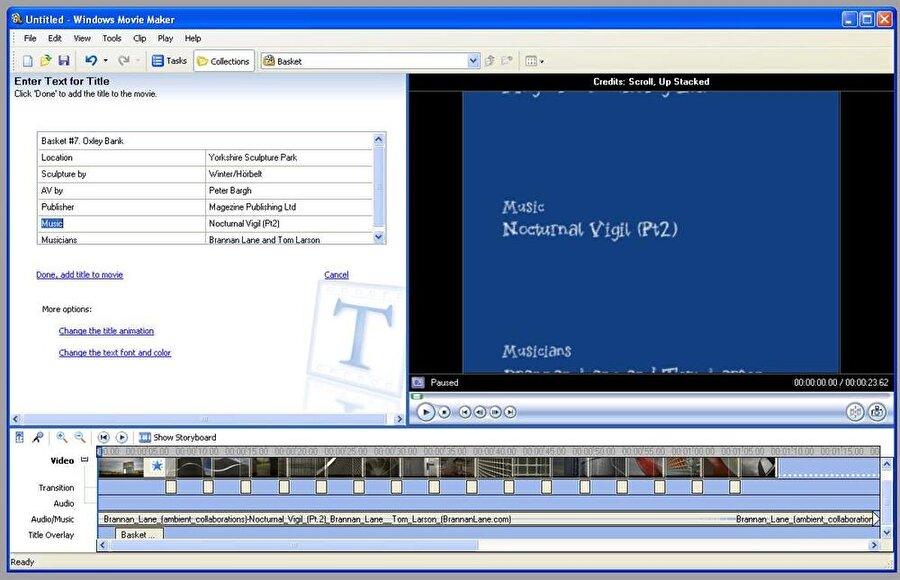 Windows Movie Maker: Müzik ve video dosyalarında düzenlemeler yapmayı sağlayan bu uygulama, temel düzeyde birçok işlemi gerçekleştirebiliyordu. Üstelik internetin yaygınlaşmaya başlamasıyla birlikte birçok kişi bu uygulamaları video hazırlamak için daha sık kullanmaya başlamıştı.
