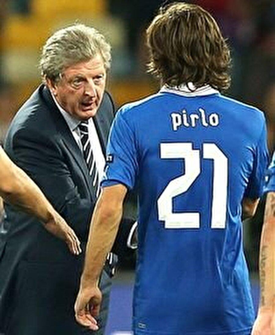YER: Milano, BAŞROL: Roy Hodgson                                      Roy Hodgson ise ismimi hep yanlış söylerdi. Bana Pirla derdi... Onun kadar ismimi yanlış telafuz eden birisini görmedim.