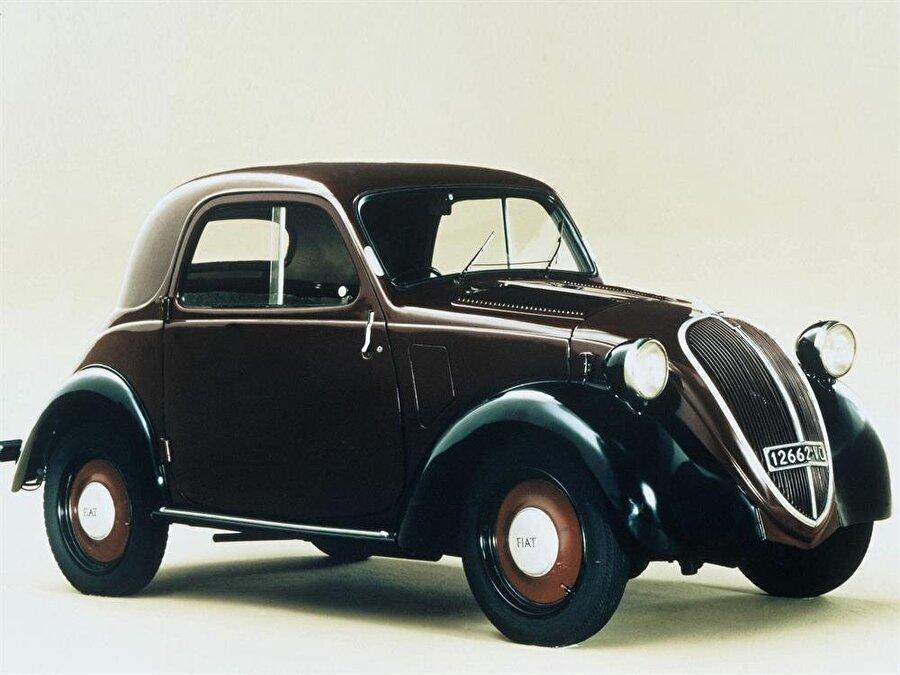 Fiat Topolino                                      Hızlı araçlara her zaman ilgi duyan Feruccio ilk önce kendisine ait olan Fiat Topolino'yu 500cc'den 750cc'ye çıkardı.