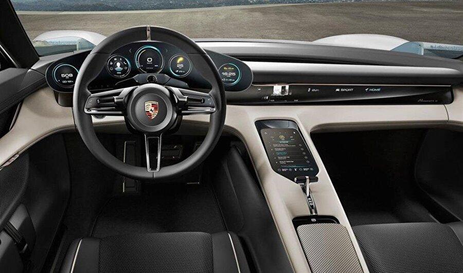 15 dakikada yüzde 80 şarj edilebilecek                                                                                                                Aracın aynı zamanda hızlı şarj teknolojisine sahip olduğu ve pili 15 dakikada yüzde 80 şarj edebileceği yine beklenen özellikler arasında bulunuyor. Porsche hızlı şarj teknolojisini daha önce Fransa'daki Le Mans yarışlarında markayı temsil eden 919 Hybrid aracında kullandığını belirtelim.