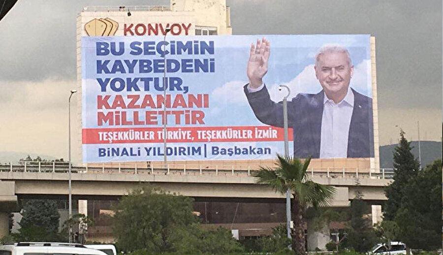 AK Parti tarafından kurulan 5 ayrı hükümette Ulaştırma Bakanı olan Yıldırım, 2014 seçimlerinde İzmir Belediye Başkan adayı olsa da seçilemedi.