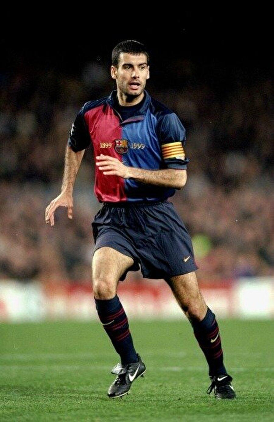 Barcelona forması altında 346 maça çıkan Guardiola toplam 10 gol attı.