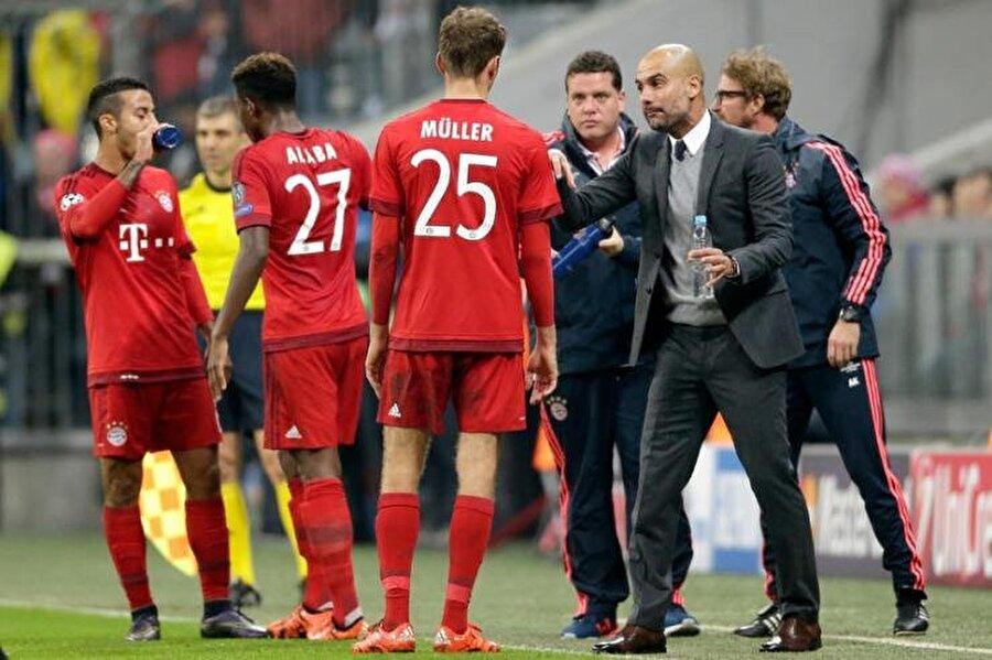 2013-2016 yılları arasında ise Guardiola, Alman devi Bayern Münih'in başındaydı.