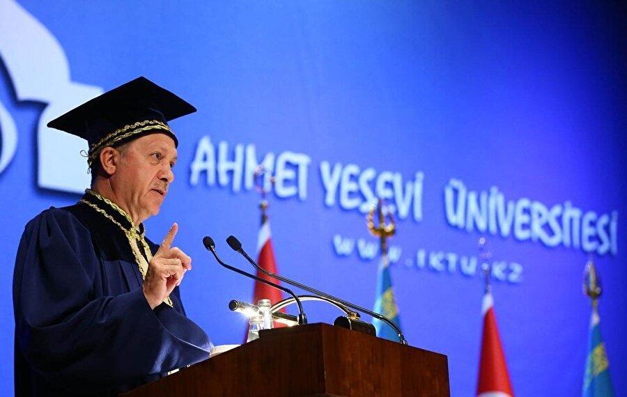 Cumhurbaşkanı Erdoğan'ın üniversite ziyareti