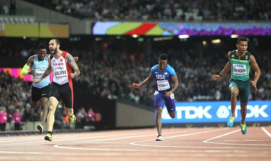 Ramil Guliyev, 200 metre finalinde Usain Bolt'u geçti ve Türkiye'nin Dünya Atletizm Şampiyonası'nda altın madalya kazanan ilk sporcusu oldu. Bu tarihi başarının önemini daha iyi idrak edebilmeniz için son 5 dünya şampiyonu: Bolt, Bolt, Bolt, Bolt, Guliyev.