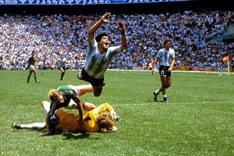 1986 Dünya Kupası'nda Diego Armando Maradona'nın adeta yıldızı parladı. Maradona çıktığı 7 maçta 5 gol attı ve şampiyonlukta büyük paya sahip oldu.