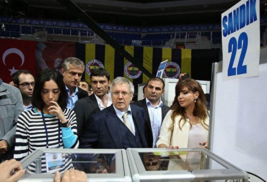 Yalnızca 1 oy                                                                           15 Şubat 1998'de gerçekleşen seçimde Aziz Yıldırım, Vefa Küçük'ü bir oyla geçip başkanlık koltuğuna oturdu.