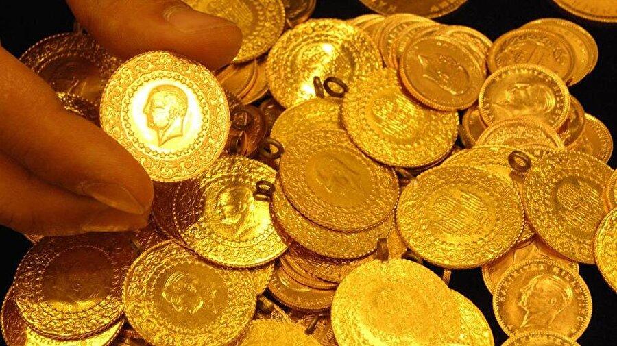 73 bin 740 adet Cumhuriyet, 153 bin 991 adet yarım, 307 bin 984 çeyrek altın alınabilir.