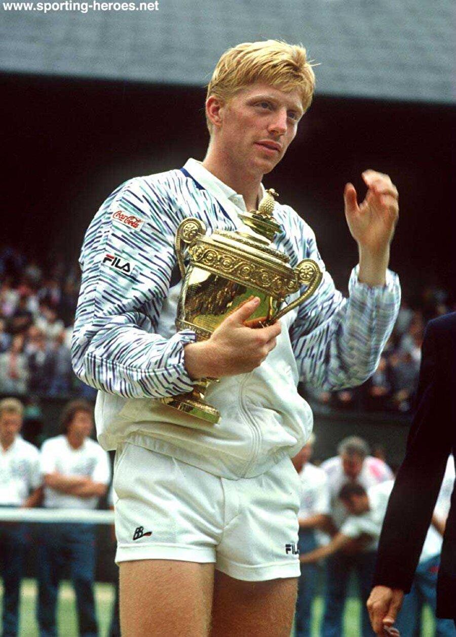 Wimbledon'ı seribaşı olmadan kazanan ilk tenisçi olan Becker bir sonraki yıl yine finaldeydi. Dünya 1 numarası Ivan Lendl'ı yenerek 18 yaşında unvanını korudu ve sükse yaptı.