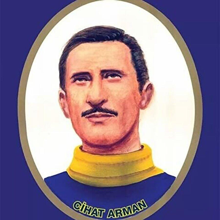 1939-1953 yılları arasında tam 14 yıl Fenerbahçe forması giyen Cihat Arman 308 maça çıktı. Yetenekleriyle dikkat çeken Arman'a taraftarlar 'Uçan Kaleci' lakabını yakıştırdı. Fenerbahçe'ye transfer olduktan sonra maçlara sık sık sarı kaleci kazağıyla çıkan Cihat Arman, taraftarların yeni bir lakabıyla karşı karşıya kaldı. Öncelikle bir kuşa benzettikleri Arman için sarı-lacivertli taraftarlar 'Sarı Kanarya' demeye başladı.