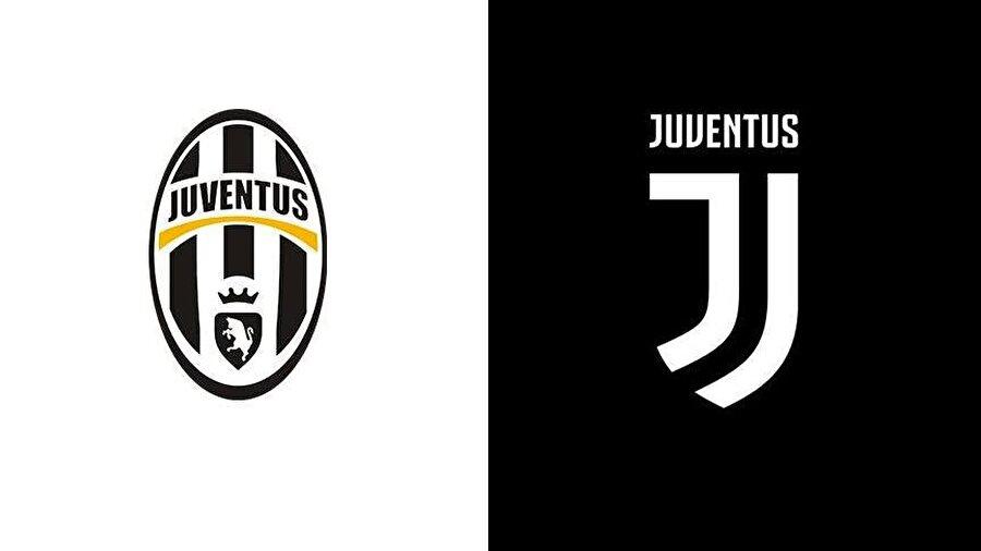 """JUVENTUS                                      Juventus, geçtiğimiz sene bu günlerde Milano kentinde düzenlenen bir etkinlikle yeni logosunu kamuoyuna tanıtmıştı.Yeni logonun, bir öncekinin aksine daha sade, kulübün siyah-beyaz çubuklu klasik formasını andıracak şekilde dinamik formda tasarlanan, baş harf """"J""""den oluştuğu dikkati çekmişti.Torino ekibinin yeni arması, tıpkı Leeds United'ın yeni logosu gibi sosyal medyada taraftarların ve futbol severlerin eleştirisine maruz kalmıştı."""