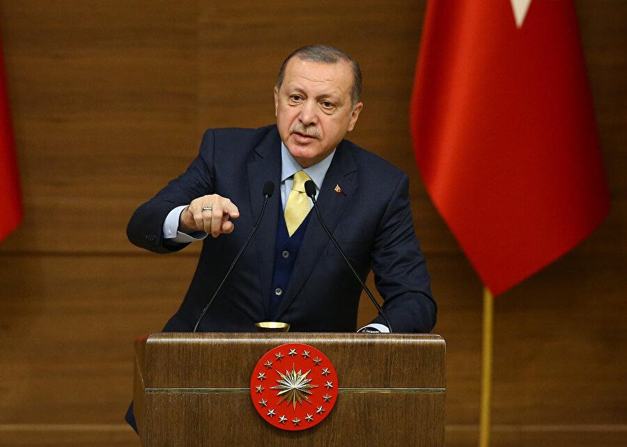Recep Tayyip Erdoğan                                      Biz bugün var, yarın yokuz ama bu ülke, bu millet inşallah ilelebet var olacak.
