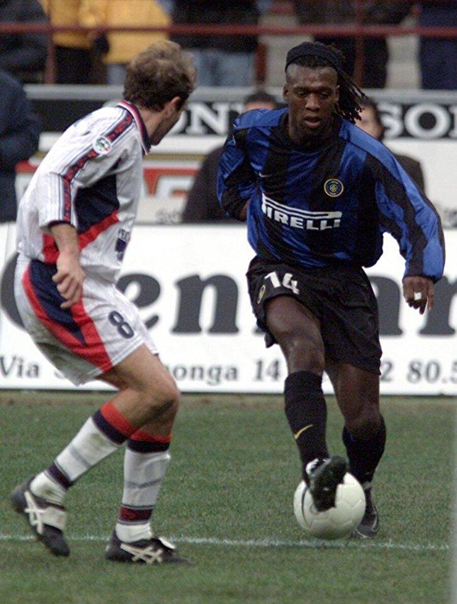 İki sezonda Inter ile 91 maça çıkan Seedorf 14 kez fileleri havalandırdı.