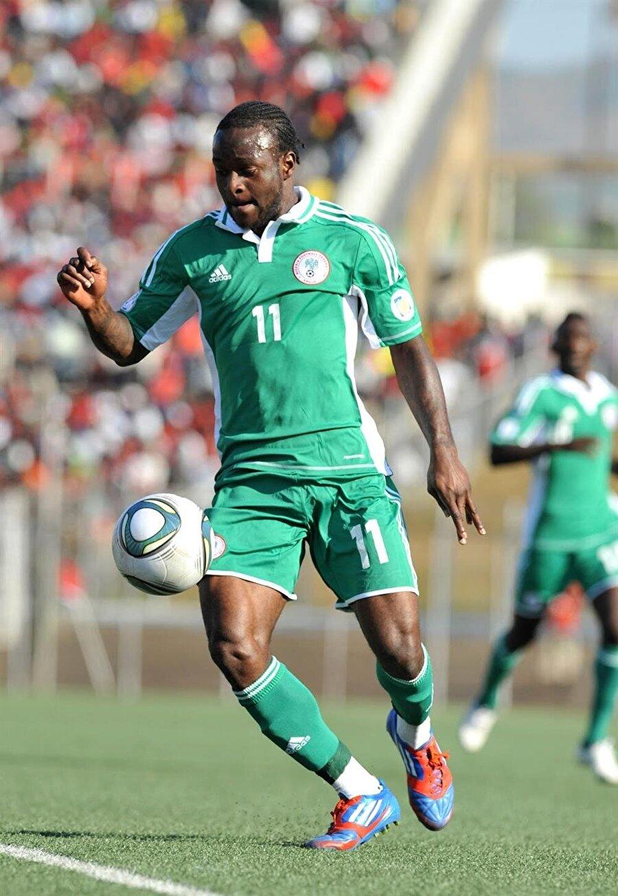 Nijerya Milli Takımı forması giyen Moses 2013'te ulusal takımıyla Afrika Şampiyonluğu yaşadı.