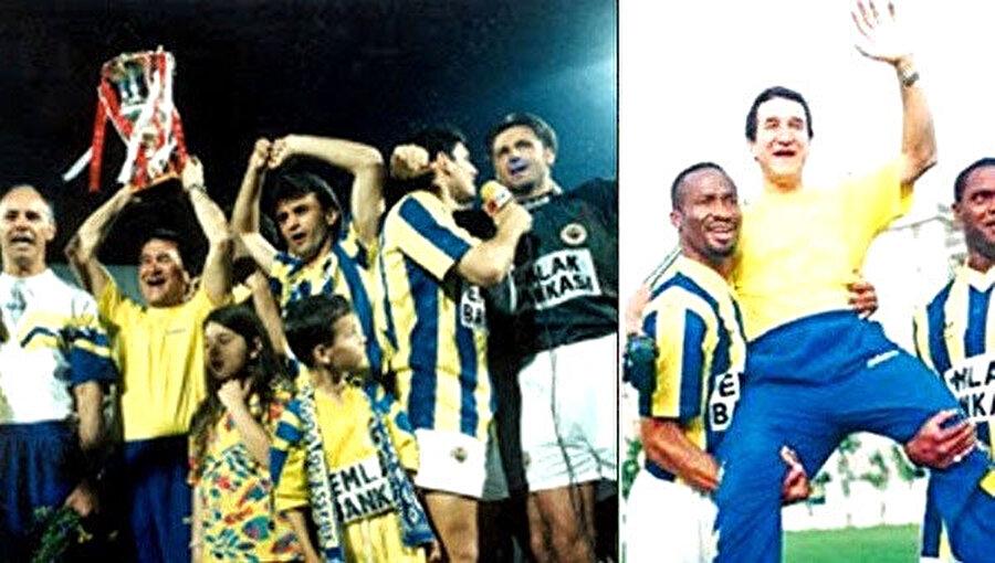 Parreira yönetimindeki Fenerbahçe şampiyonluğa ulaştı.