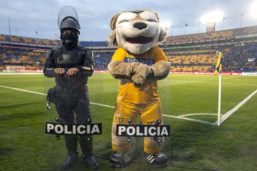 Meksika Ligi'nin köklü ekiplerinden Tigres'in maskotu.