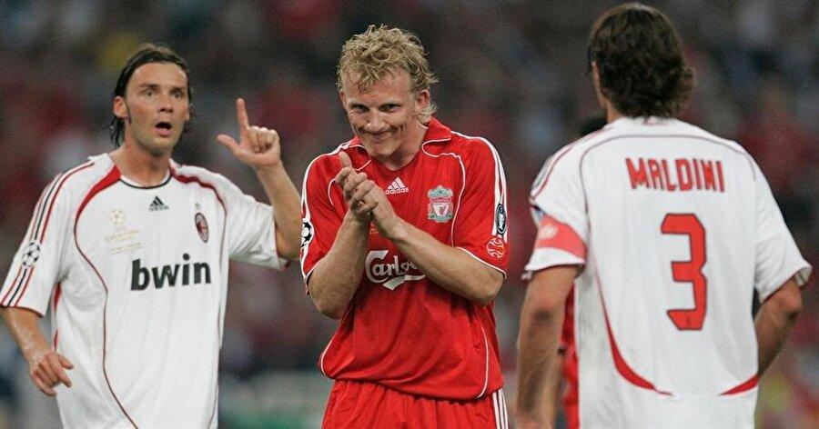 Adını Liverpool tarihine altın harflerle yazdıran Kuyt çıktığı 286 maçta 71 gol atıp 40 asist yaptı.
