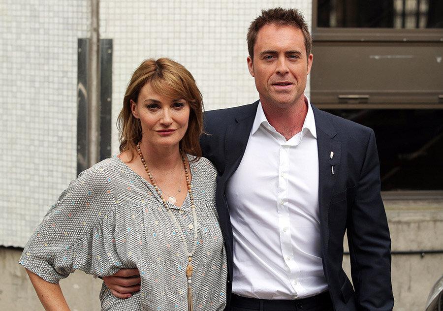 Sarah Parish ve eşi James Murray.