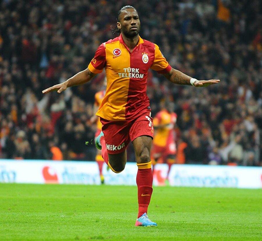 Drogba, Galatasaray forması altında 53 maça çıkıp 20 gol attı.