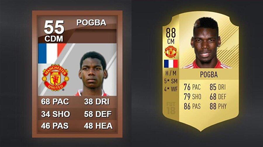 Dünyanın en pahalı orta sahası!  Paul Pogba (Manchester United)