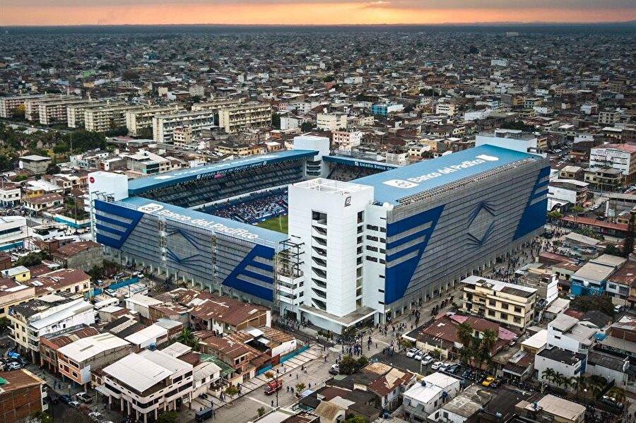 Estadio George Lewis Capwell Aldığı Puan: 62.70Ülke: EkvadorKulüp: EmelecKapasite: 40.059İnşaat Süresi: 2015-2017