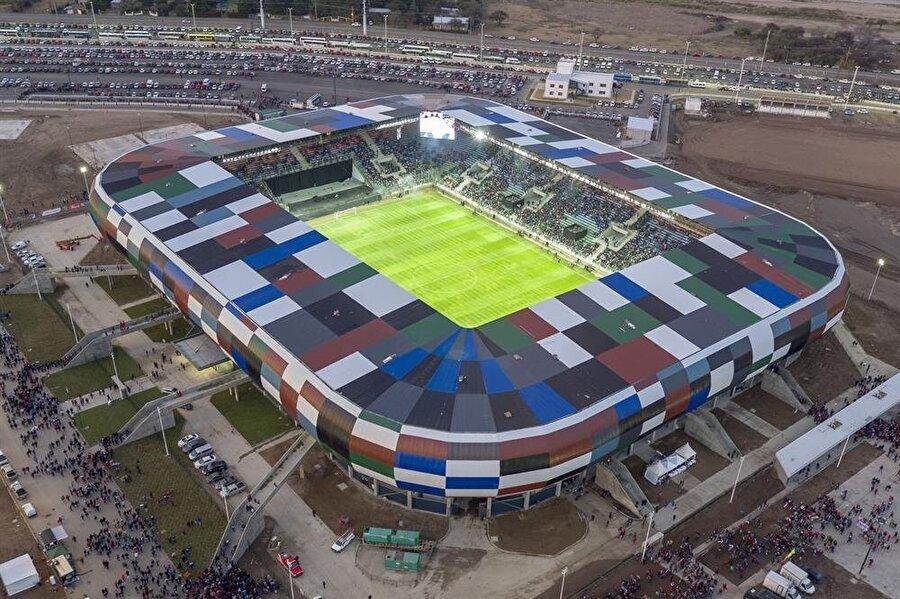 Estadio Único del Parque La Pedrera Aldığı Puan: 31.003 Ülke: ArjantinKapasite: 28.000İnşaat Süresi: 2016-2017