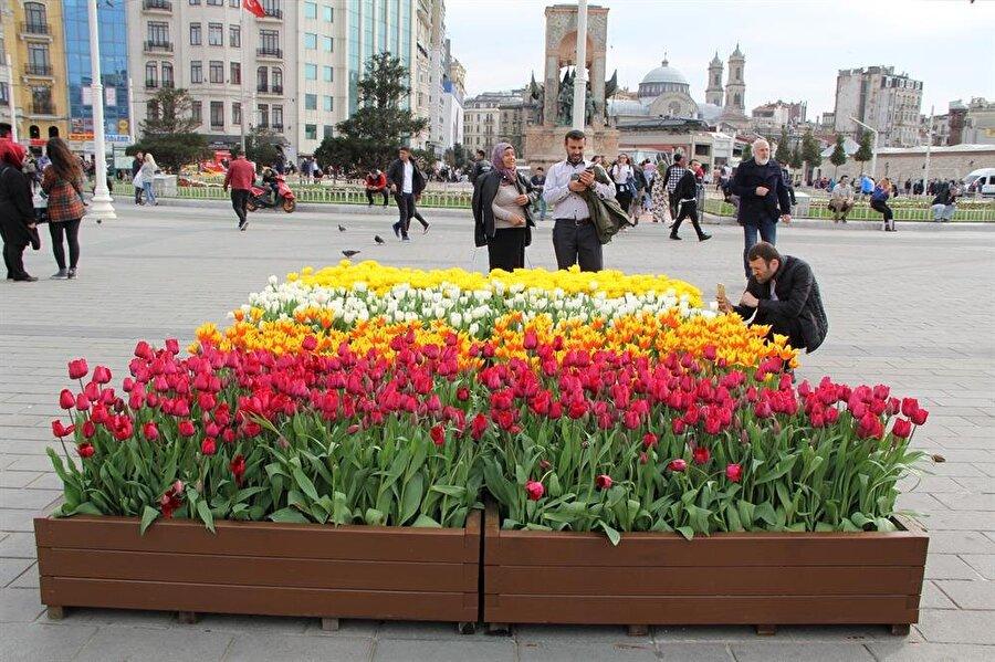 Laleler, İstanbulluların yanı sıra turistlerin de ilgisini çekiyor. Birçok vatandaş ve turist Taksim Meydanı'ndan, telefonlarıyla canlı yayın yaparak bu güzel anları sevdikleriyle paylaşıyor. Emirgan Korusu'nda 3 Nisan'da gerçekleştirilen törenle 13. Lale Festivali'ni başlatan İstanbul Büyükşehir Belediye Başkanı Mevlüt Uysal, bu yıl şehrin parklarına, bahçelerine, meydan ve caddelerine 125 ayrı türde 30 milyon lale diktiklerini ifade ederek, lalelerin tamamının yerli ve milli olduğunu belirtmişti.
