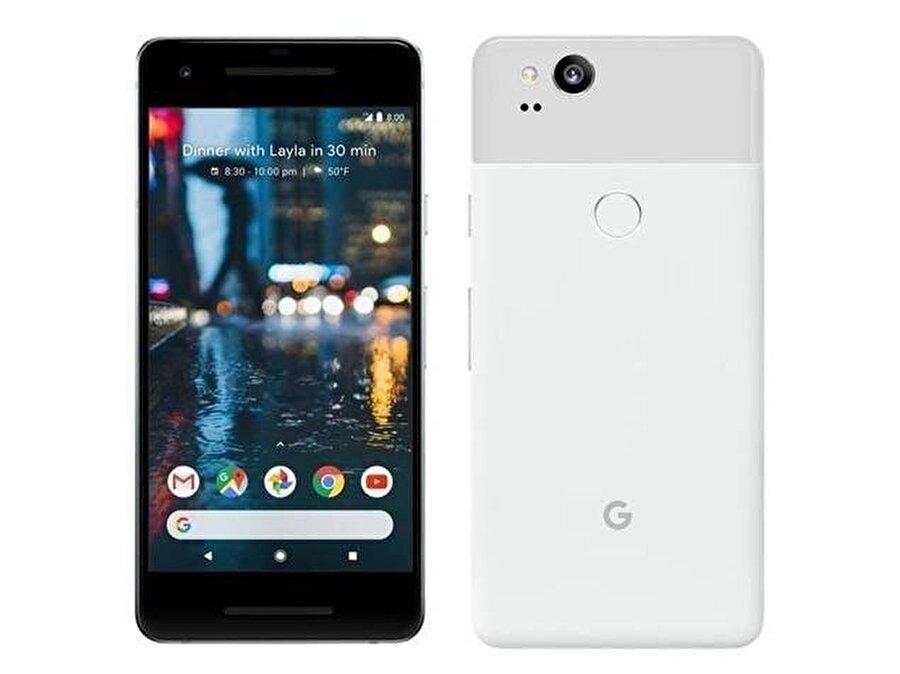 Google Pixel 2 SAR değeri                                                                           Baş:0.93 W/kg Gövde:0.96 W/kg