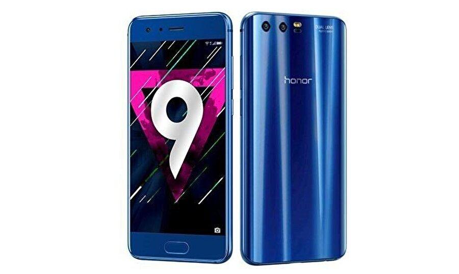 Huawei Honor 9 SAR değeri                                                                           Baş: 1.26 W/kg Gövde:1.26 W/kg