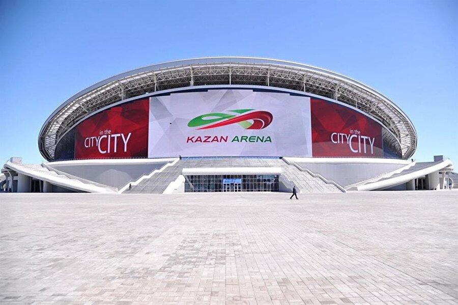 Kazan Arena                                                                           Şehir: KazanKapasite: 45.000Oynanacak maçlar:16 Haziran / C Grubu Fransa-Avustralya20 Haziran / B Grubuİran-ispanya24 Haziran / H GrubuGüney Kore-Almanya 30 Haziran 1C-2B6 Temmuz Çeyrek final
