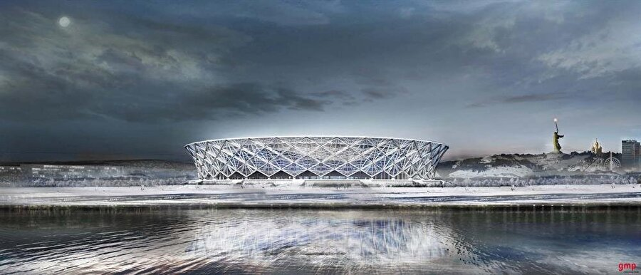 Volgograd Stadyumu                                                                             Şehir: VolgograKapasite: 45.000Oynanacak maçlar: 18 Haziran / G Grubu Tunus-İngiltere 22 Haziran / D GrubuNijerya-İzlanda25 Haziran / A GrubuSuudi Arabistan-Mısır 28 Haziran H GrubuJaponya-Polonya