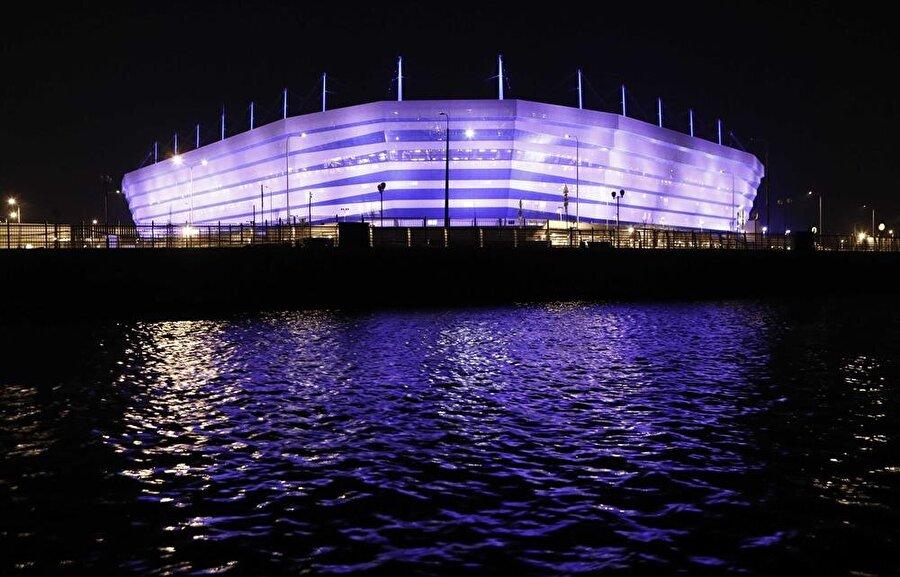 Kaliningrad Stadyumu                                                                            Şehir: KaliningradKapasite: 35.212Oynanacak maçlar 16 Haziran / D Grubu Hırvatistan-Nijerya22 Haziran / E GrubuSırbistan-İsviçre25 Haziran / B Grubu İspanya-Fas28 Haziran / G Grubu İngiltere-Belçika