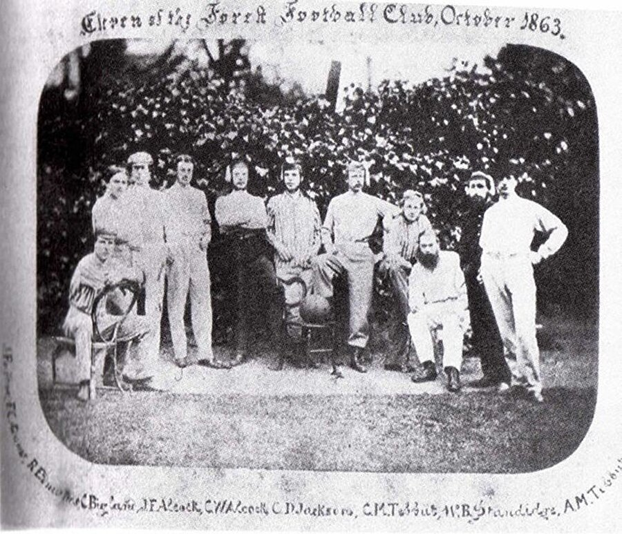 Civil Service FC / 1863                                      Civil Service FC 1863 yılında Londra'da kuruldu.