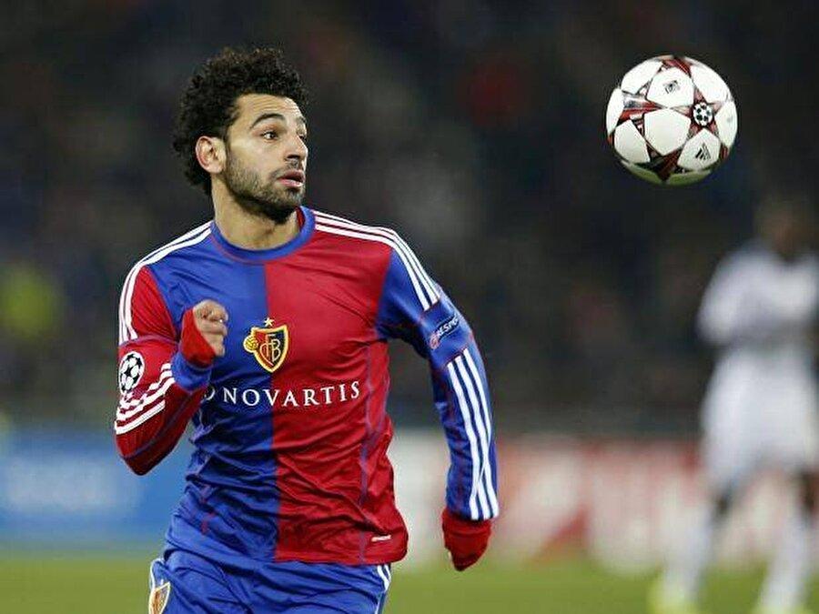 79 maç 20 gol                                                                           2012-2014 yılları arasında Basel forması giyen Salah çıktığı 79 maçta 20 gol atıp 17 asist yaptı.