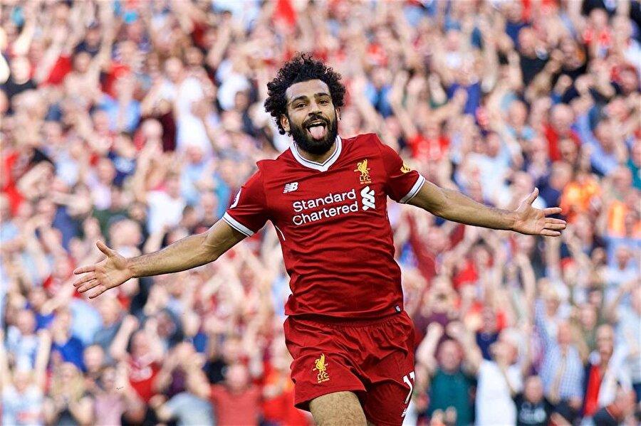 Tüm dünyayı kendine hayran bıraktı                                                                           Bu sezon Liverpool ile 50 maça çıkan Salah 43 kez fileleri havalandırdı.