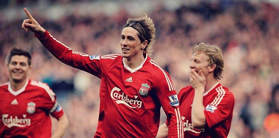 Fernando Torres                                      Kulüp: LiverpoolSezon: 2007-2008Maç: 46     Gol: 33
